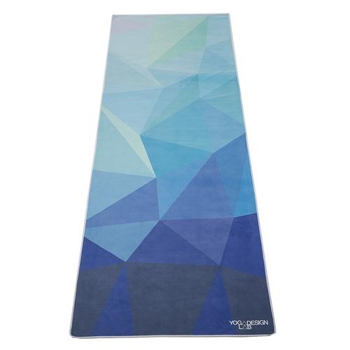 YogaDesignLab|Yoga Mat Towel 瑜珈舖巾 - Geo Blue