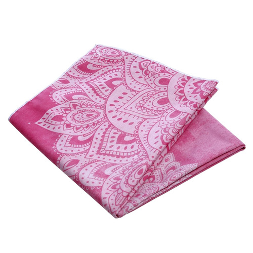 YogaDesignLab|Yoga Mat Towel 瑜珈舖巾 - Mandala Rose