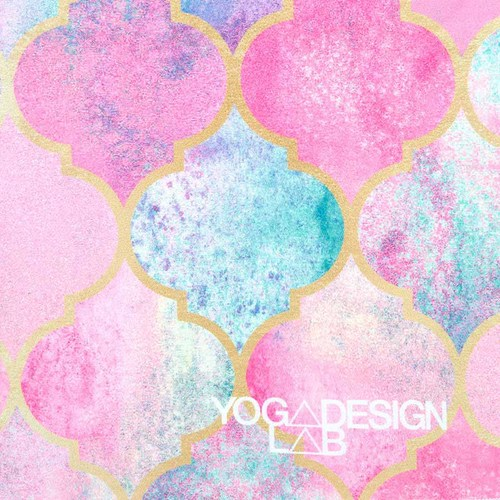 YogaDesignLab|Yoga Mat Towel 瑜珈舖巾 - Monaco