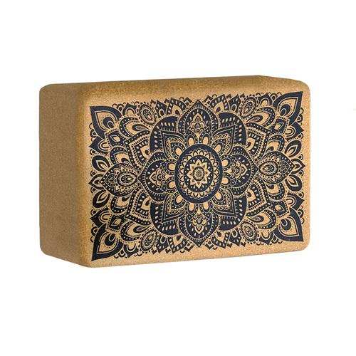 YogaDesignLab|Cork block 軟木瑜珈磚 - Mandala