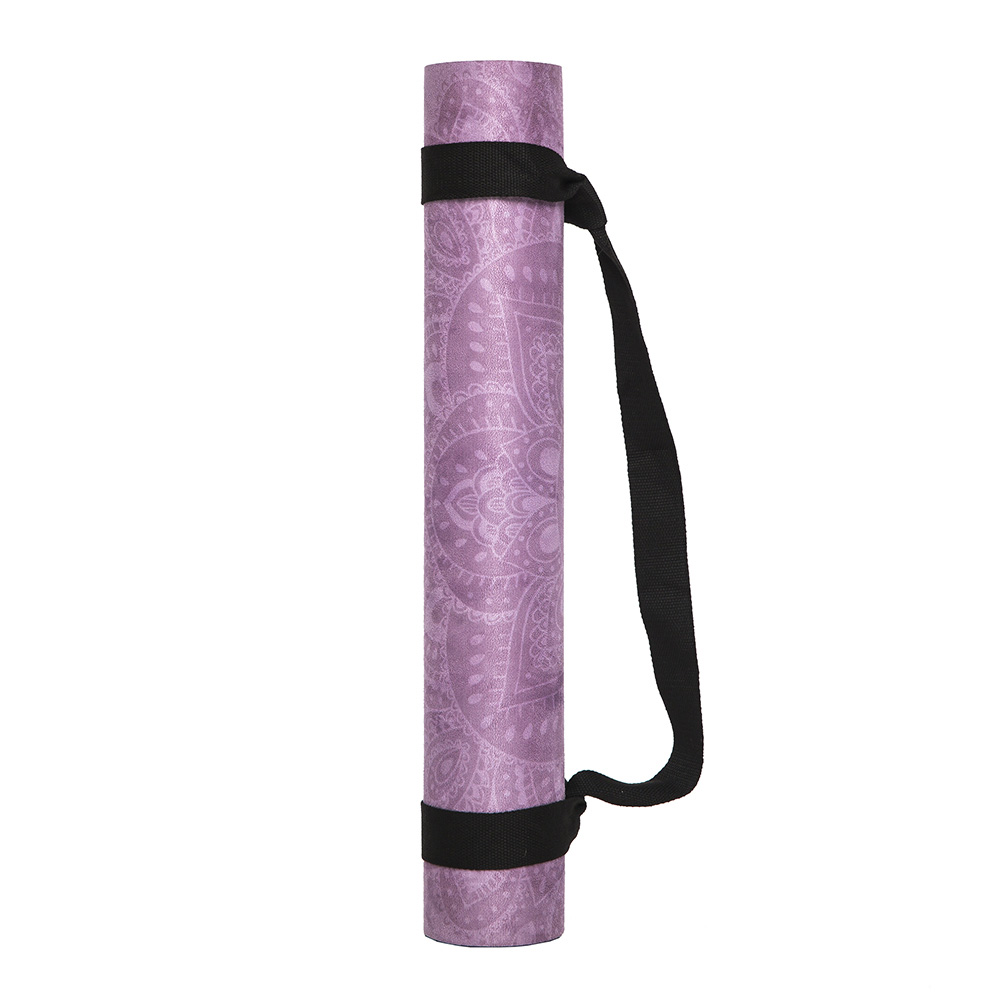 YogaDesignLab|Combo Mat 天然橡膠瑜珈墊3.5mm - Mandala Purple