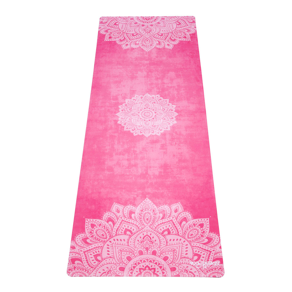 YogaDesignLab|Combo Mat 天然橡膠瑜珈墊3.5mm - Mandala Rose