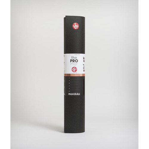 Manduka|PRO Mat 瑜珈墊 6mm - Black