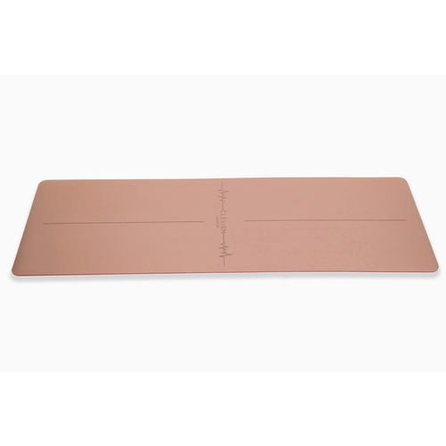 Clesign|Pro Yoga Mat - Follow The Heartbeat 瑜珈墊 4.5mm - Nude Pink