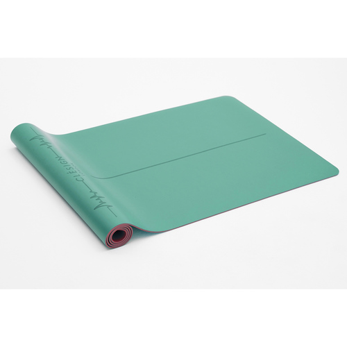 Clesign|Pro Yoga Mat - Follow The Heartbeat 瑜珈墊 4.5mm - Aqua Green