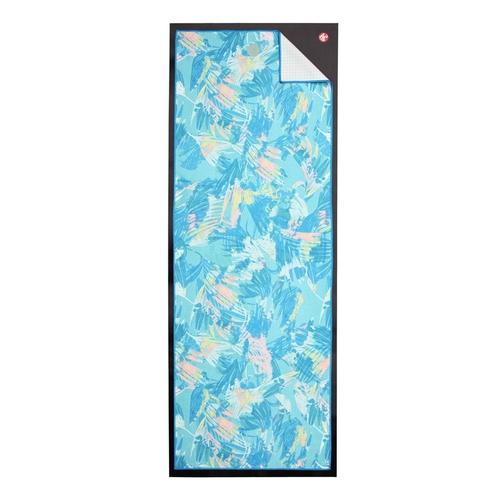 Manduka|Yogitoes 2.0 瑜珈舖巾 - Tropics Blue