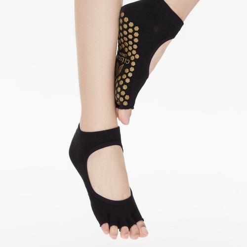Clesign|Toe Grip Socks 瑜珈露趾襪 - Blackout