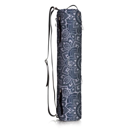 Yoga Design Lab|多功能瑜珈墊收納揹袋 - Mandala Charcoal