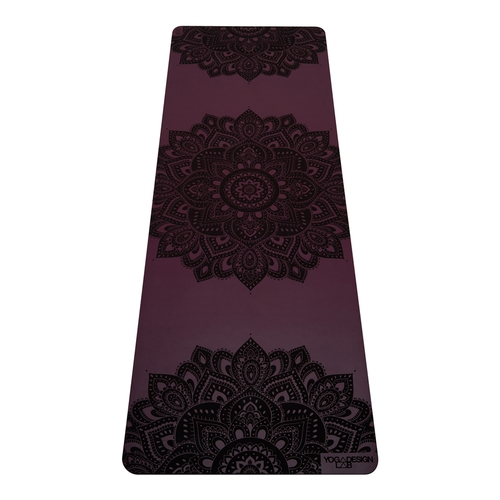 Yoga Design Lab|Infinity Mat PU瑜珈墊 5mm - Mandala Burgundy