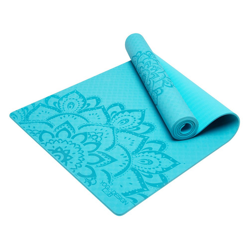Yoga Design Lab|Flow Mat TPE環保瑜珈墊 6mm - Aqua