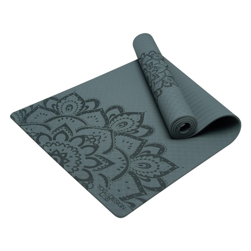 Yoga Design Lab|Flow Mat TPE環保瑜珈墊 6mm - Charcoal