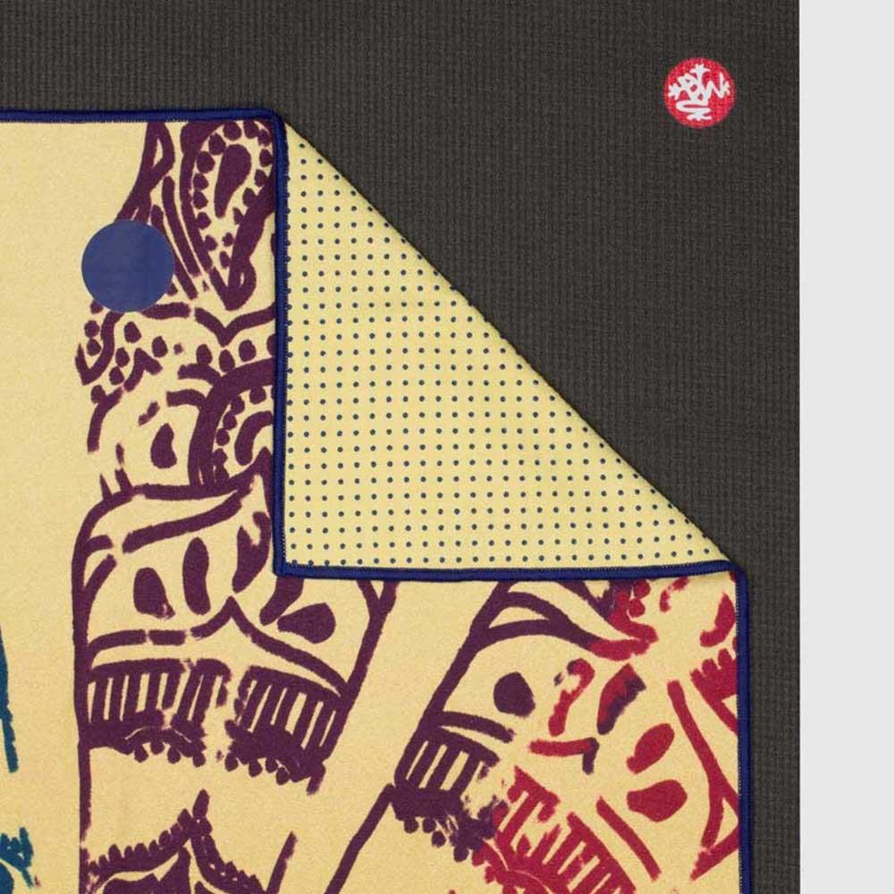 Manduka|Yogitoes 2.0 瑜珈舖巾 - Chakra Print (Yellow)