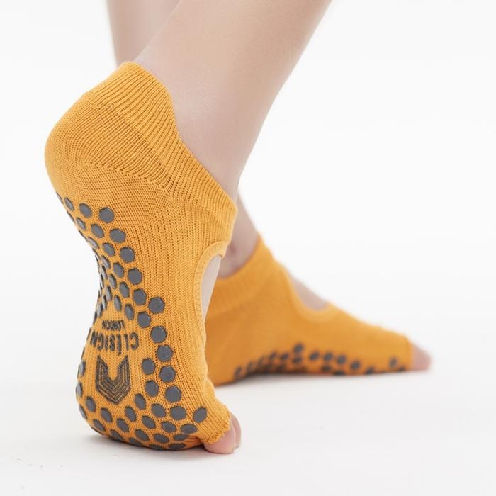 (複製)Clesign|Toe Grip Socks 瑜珈露趾襪 - Ruban