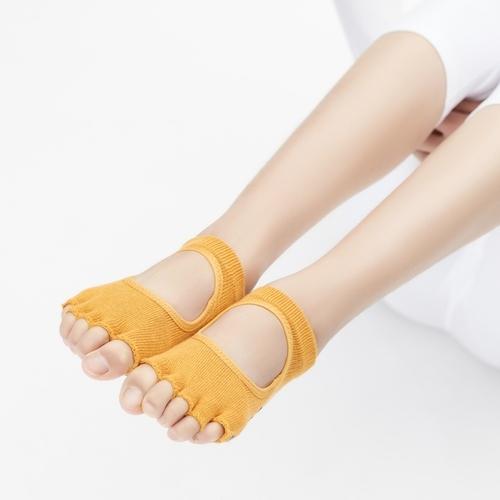 Clesign|Toe Grip Socks 瑜珈露趾襪 - Radiant