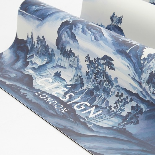 Clesign|The New Life Travel Mat 旅行瑜珈墊 1.5mm - CHINOISERIE Chatsworth