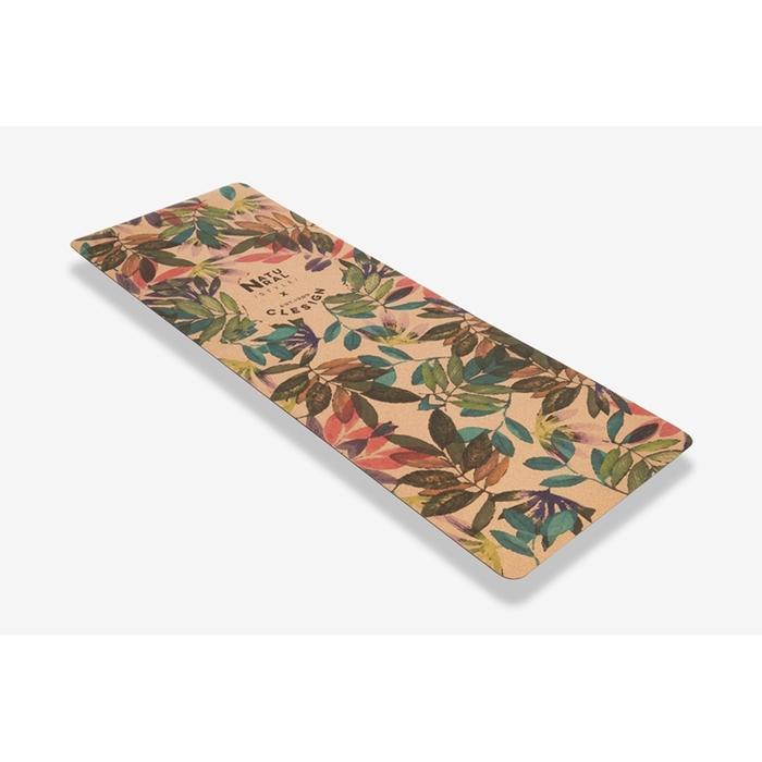 (複製)Clesign|Eco Cork Yoga Mat 軟木瑜珈墊 5mm - Flowering Elephants