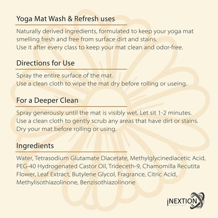 INEXTION|Mat Wash 瑜珈墊專用清潔劑 4000ml - Chamomile 洋甘菊
