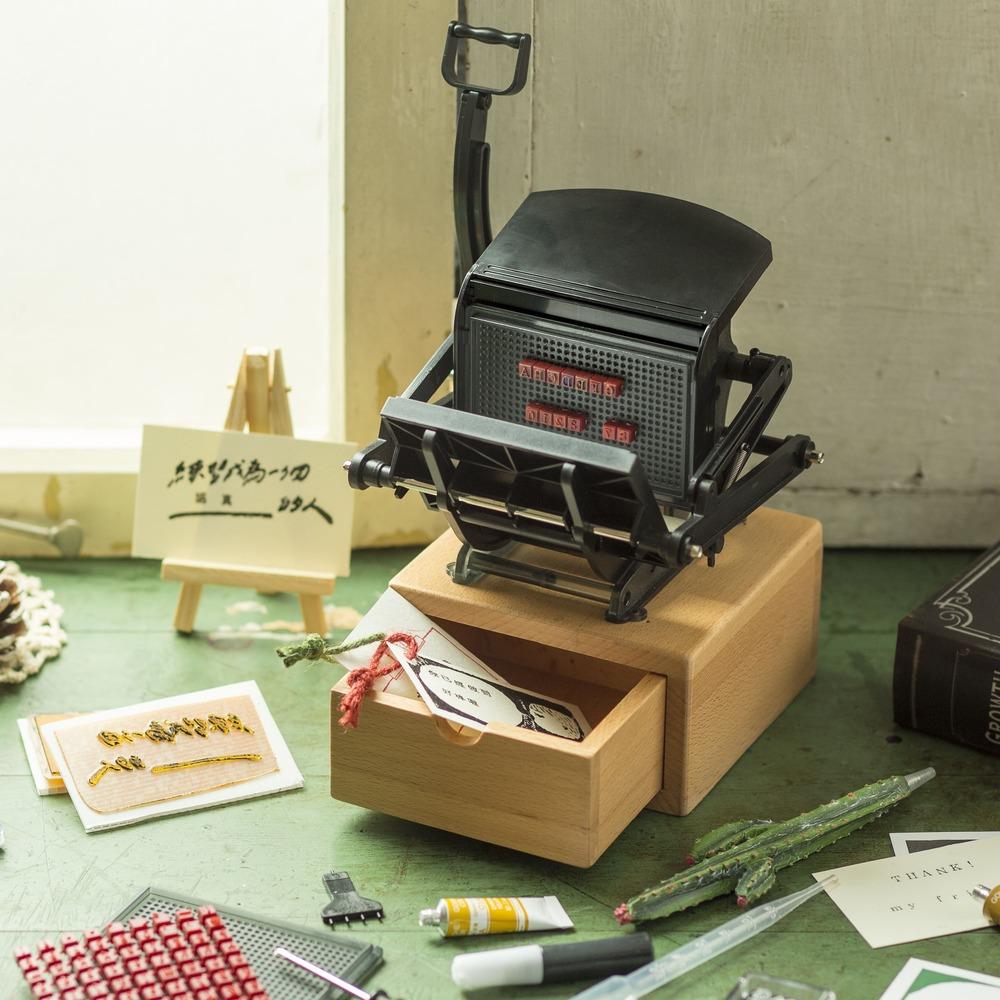 親子天下|大人的科學:迷你活版印刷機(含金萱一分糖中文活字組合)