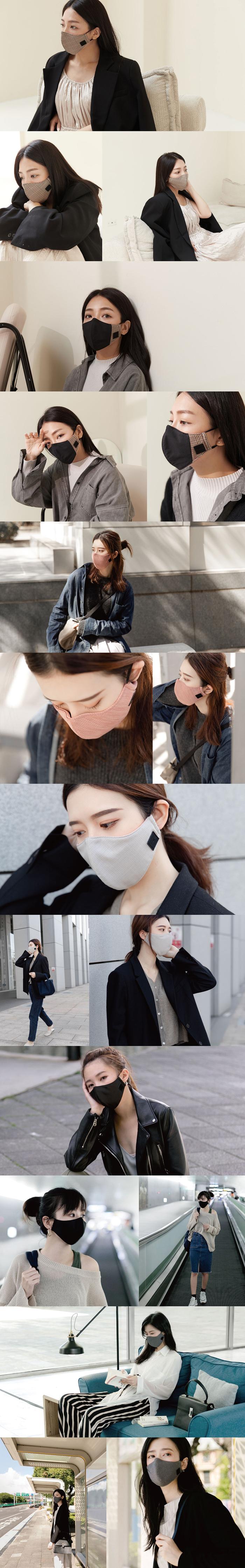 (複製)淨對流Xpure|抗霾布織口罩 - beauty (乾燥玫瑰 one size)