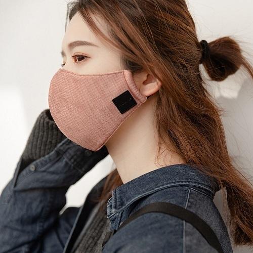 淨對流Xpure 抗霾布織口罩 - beauty (乾燥玫瑰 one size)