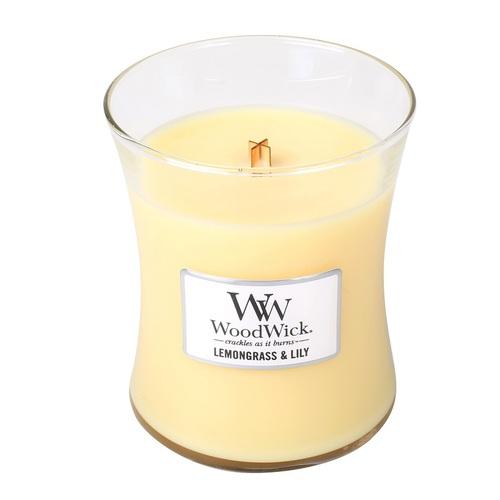 WOODWICK|美國精緻居家香氛 9.7oz香氛杯蠟經典款(水仙檸檬草)