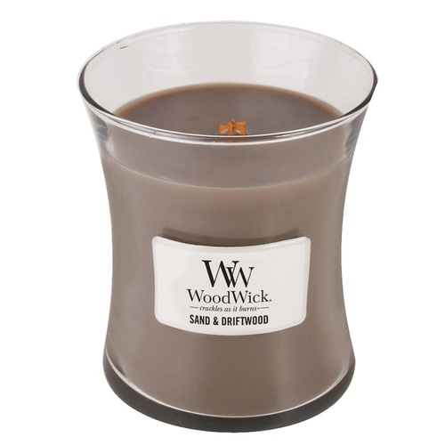 WOODWICK|美國精緻居家香氛 9.7oz香氛杯蠟經典款(白沙浮木)