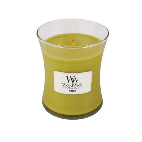 WOODWICK|美國精緻居家香氛 9.7oz香氛杯蠟經典款(柳樹橡苔)