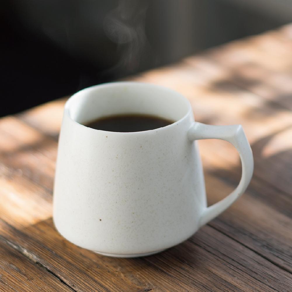 Cores|KIKI美濃燒馬克杯-瓷製可微波 (白)
