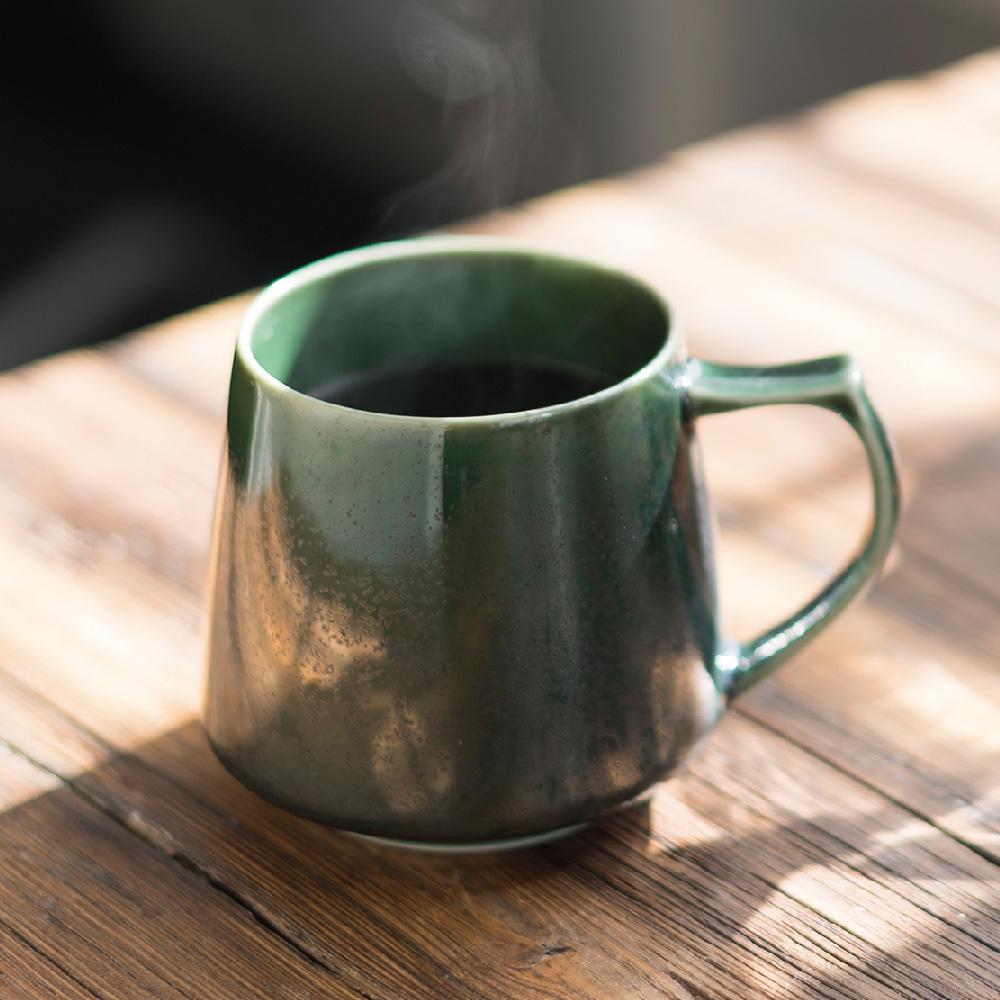 Cores|KIKI美濃燒馬克杯-瓷製可微波 (綠)