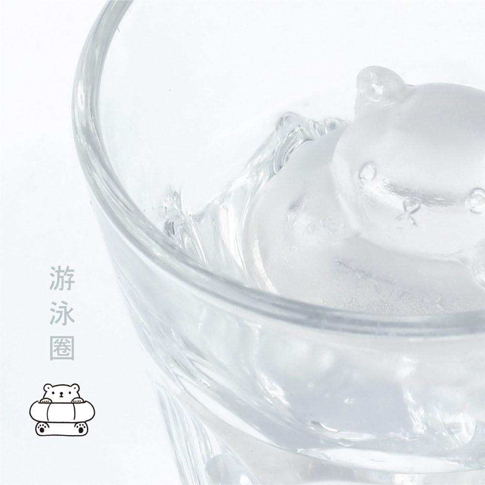 【集購】Unipapa x 白白日記|白白冰凍派對製冰盒(四款經典造型組)