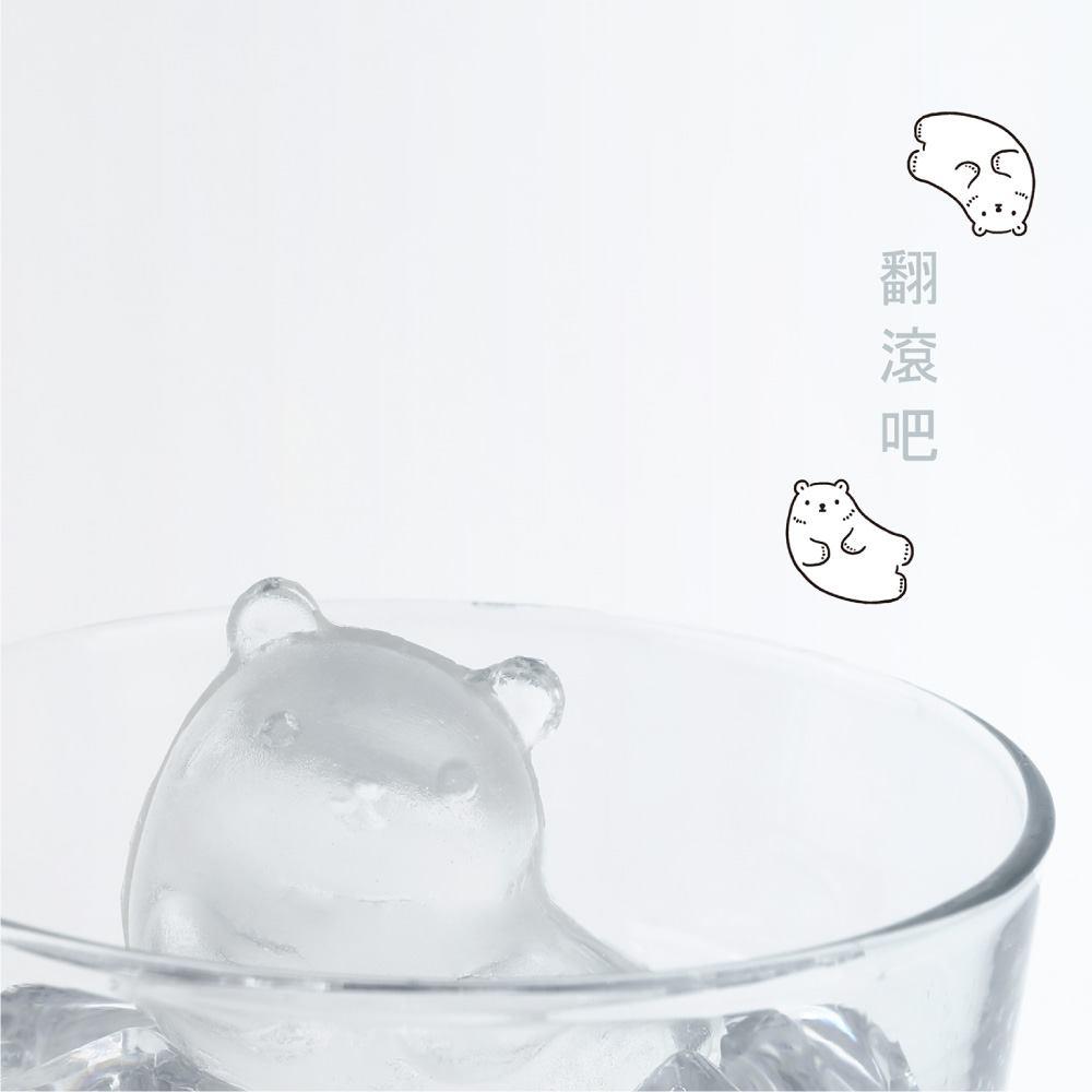 Unipapa x 白白日記|白白冰凍派對製冰盒(四款經典造型組)