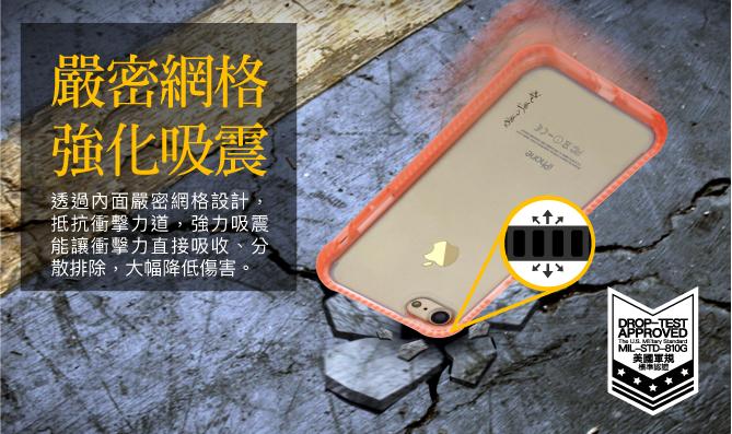 NavJack|iPhone SE(二代) 8 / 7 (4.7吋) 超抗摔軍規保護殼
