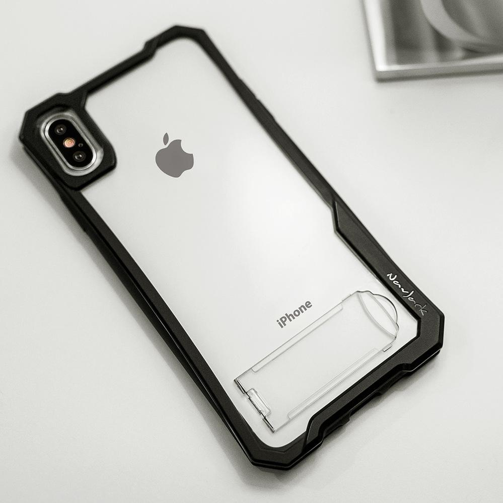 NavJack|iPhone Xs Max (6.5吋) 站立式空壓保護殼