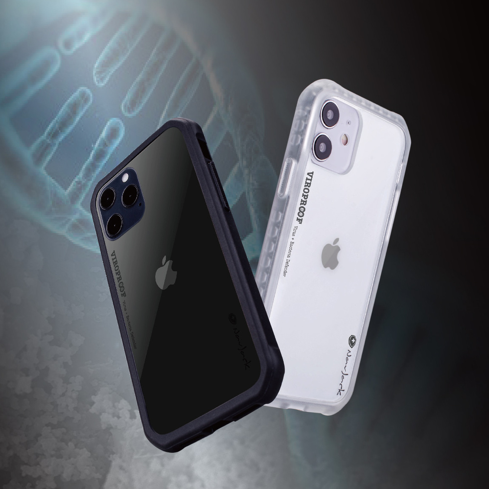 NavJack|iPhone 12 & Pro (6.1吋) 超奈米抗病毒軍規防摔殼