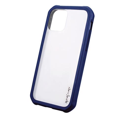 NavJack|iPhone 12 & 12 Pro(6.1吋) / 12 Pro Max(6.7吋) 超抗摔吸震空壓保護殼-湛藍色