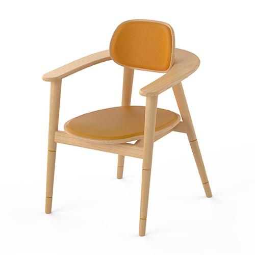不一而作|一坐一走 餐椅