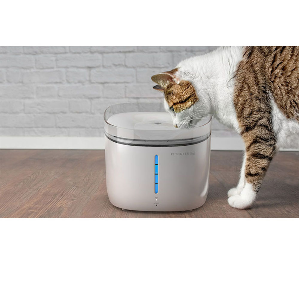 PETONEER|寵物智能水質檢測飲水機(UV版)