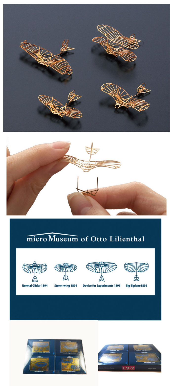 (複製)Aerobase|金屬模型組裝飛機LS-1飛鳥造型滑翔型四件組(1/160)