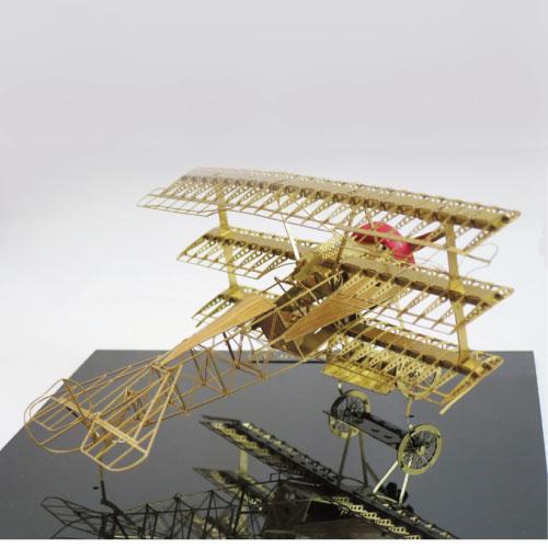 Aerobase|金屬模型組裝飛機Fokker Dr.1黃銅材質戰鬥機1/48)
