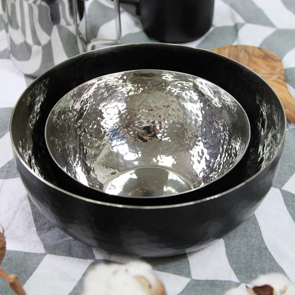 Selbrae House 不鏽鋼大小時尚設計碗組(一大一小入)