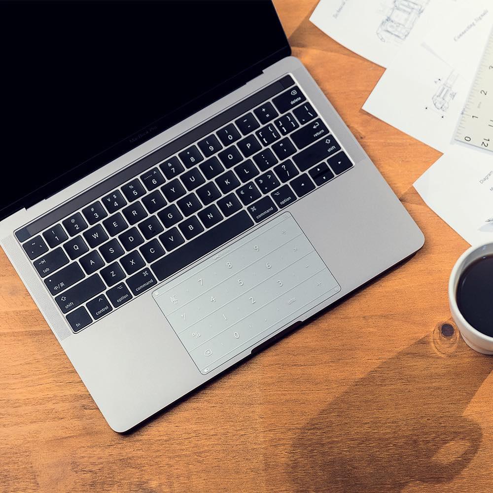 Nums|超薄智能鍵盤膜Macbook Pro13(Type C新款,含touch bar可共用)