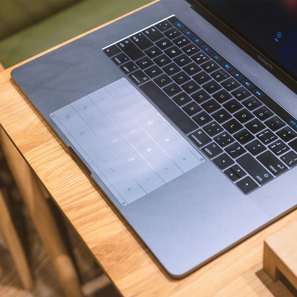 Nums 超薄智能鍵盤膜Macbook Pro15(Type C新款,含touch bar可共用)