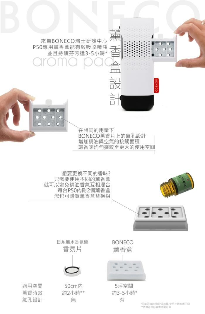 BONECO|無水負離子香氛機 P50 - 消光黑