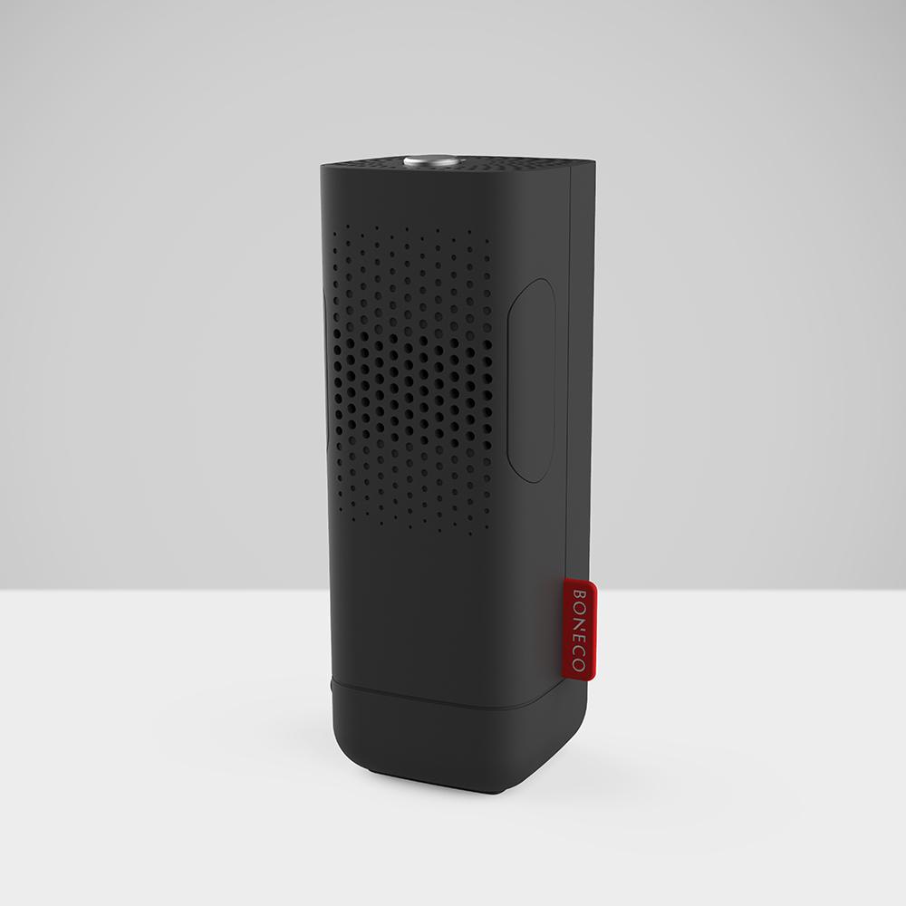 BONECO|無水負離子香氛機 P50 + 替換用薰香盒5入/組 - 消光黑