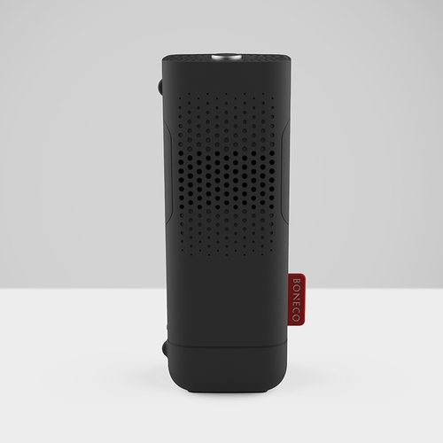 BONECO go! 便攜組 F50循環扇+P50香氛機 - 消光黑