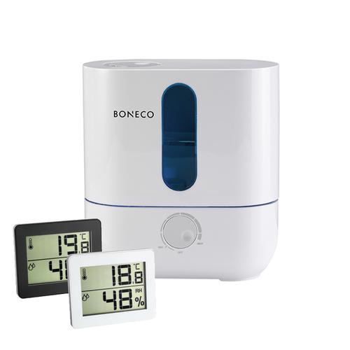 BONECO|超音波空氣加濕機 U200 + 溫溼度計