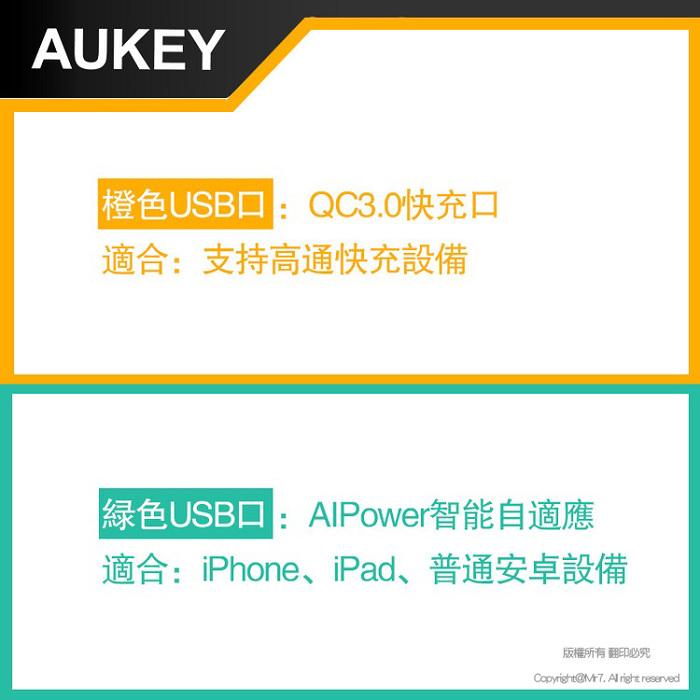 (複製)AUKEY PB-XD26 PD2.0+QC3.0快充行動電源