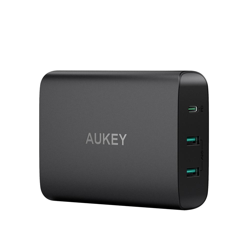 AUKEY|PA-Y12 72W PD3.0 3孔快速充電器