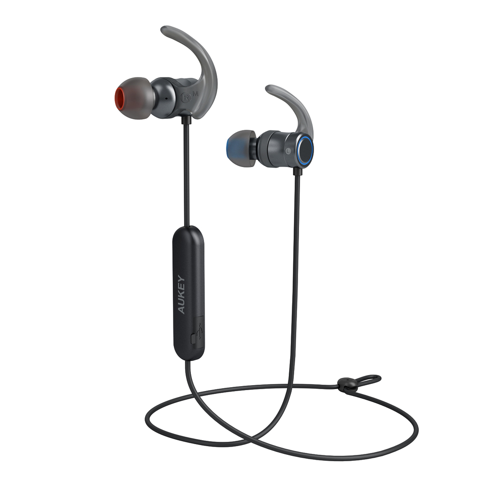 AUKEY|EP-B67 aptX磁吸式藍牙運動耳機