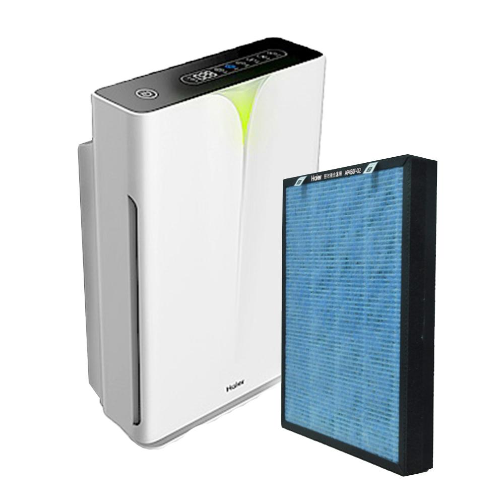 Haier|大H空氣清淨機+醛效濾網 (超值組)